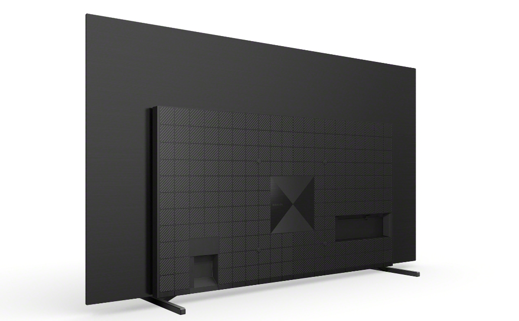 Test Sony BRAVIA XR A80J OLED Google TV wygląd tył 2
