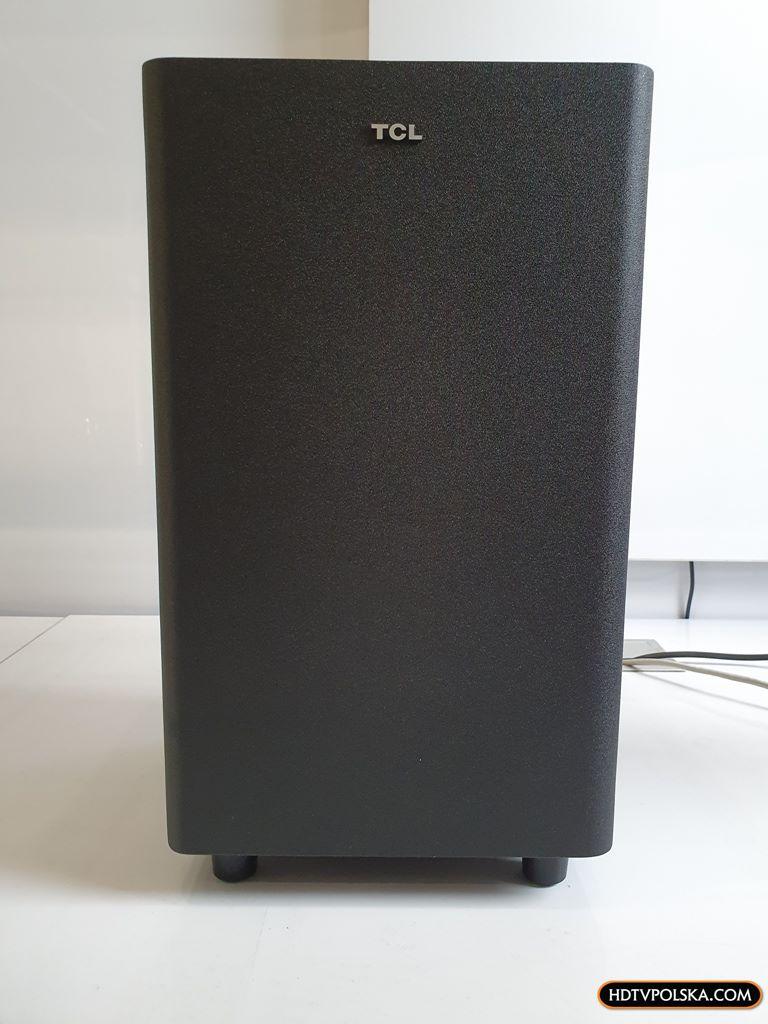Test soundbar TCL Alto 8e TS8132 Subwoofer 1