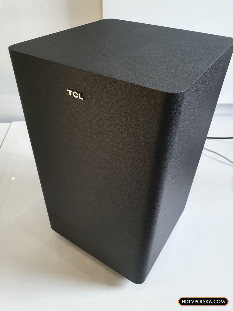 Test soundbar TCL Alto 8e TS8132 Subwoofer 2
