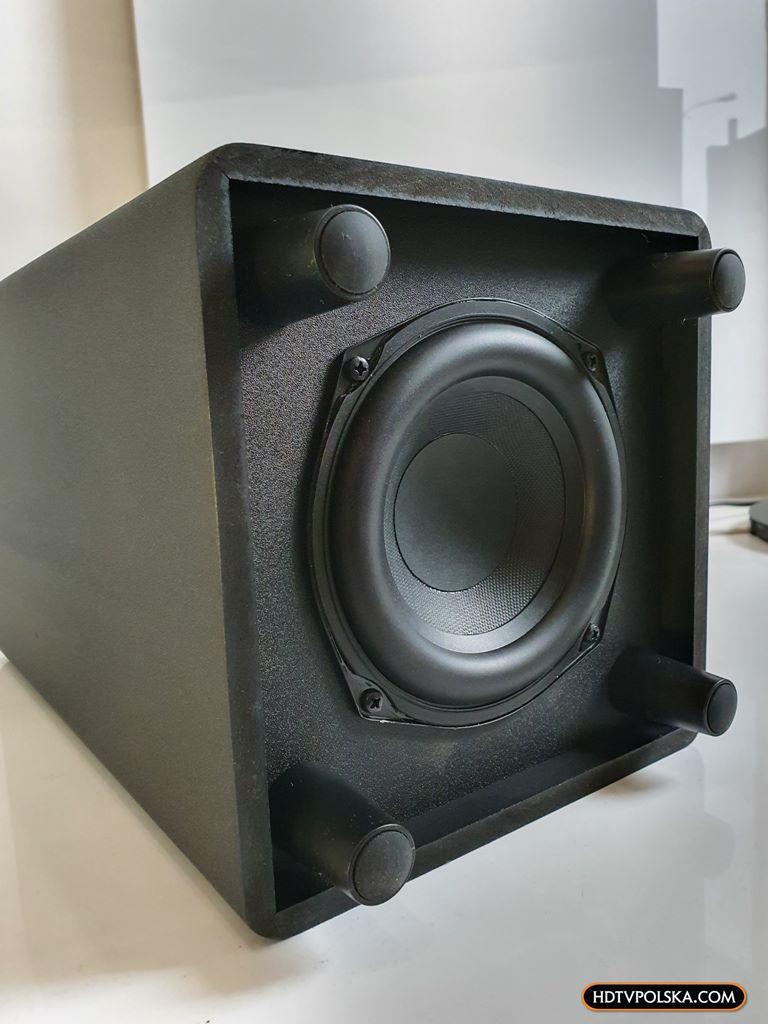 Test soundbar TCL Alto 8e TS8132 Subwoofer 4