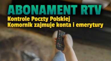 abonament rtv kontrole poczty polskiej komornik okładka