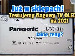 panasonic 4K OLED JZ2000 telewizor w sklepach okładka