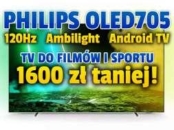 philips oled705 55 cali telewizor promocja media expert sierpień okładka