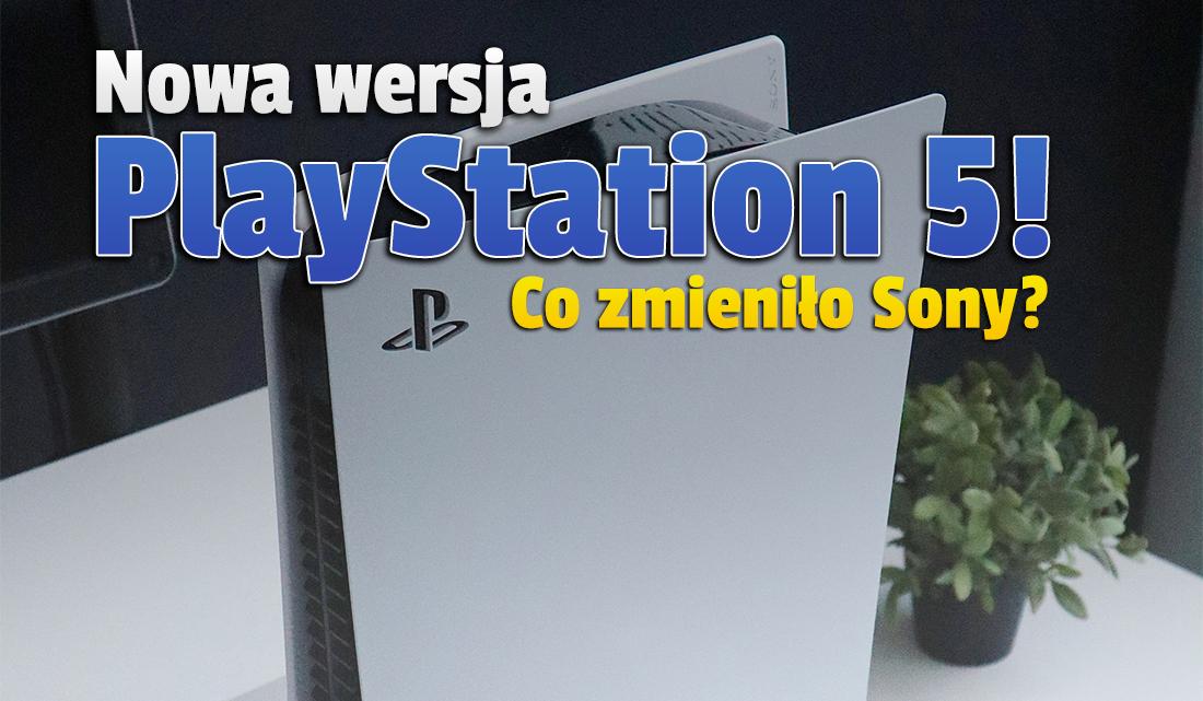 Do sklepów nieoczekiwanie trafił nowy model PlayStation 5 z napędem! Co zmieniło w nim Sony? Warto czekać na dostępność w Polsce?
