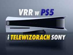 ps5 telewizory sony vrr aktualizacja 2021 okładka
