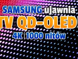 samsung telewizor QD-OLED 2022 specyfikacja okładka