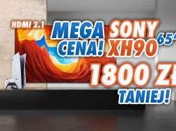 sony xh90 promocja weekend żółtych cen rtv euro agd sierpień 2021 okładka