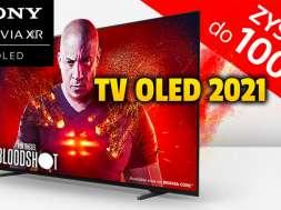 telewizor Sony OLED promocja cashback sierpień 2021 rtv euro agd okładka