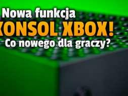 xbox series x s konsole tryb nocny nowa funkcja okładka