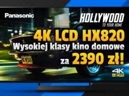 Panasonic HX820 50 cali telewizor 4K LCD promocja RTV Euro AGD wrzesień 2021 okładka