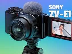 Sony ZV-E10 aparat do wideoblogów okładka