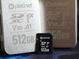 karta SD Platinet Express PCle 7.0 okładka
