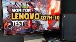 Monitor z USB-C do pracy i okazjonalnego grania w przystępnej cenie? | TEST | Lenovo Q27h-10 o nietuzinkowym wyglądzie!