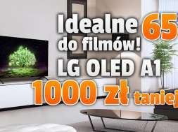 lg oled a1 telewizor 2021 65 cali promocja media expert okładka