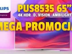 philips performance pus8535 65 cali promocja RTV EURO AGD okładka