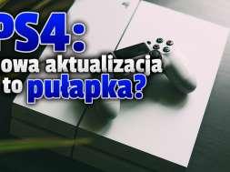 playstation 4 aktualizacja błędy okładka