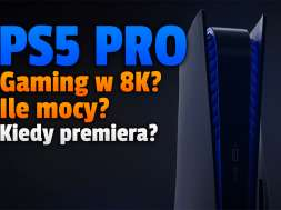 playstation 5 pro konsola 8K premiera okładka