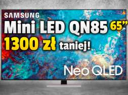 samsung neo qled mini led qn85 65 cali telewizor promocja media expert okładka