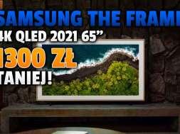 samsung the frame telewizor 4K QLED 2021 65 cali promocja RTV Euro AGD wrzesień 2021 okładka
