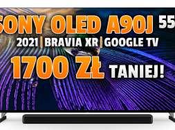 sony oled a90j telewizor 2021 promocja sony centre wrzesień 2021 okładka