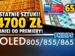 Philips-OLED855-65-cali-telewizor-promocja-RTV-Euro-AGD-październik-2021-okładka-2