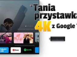 realme 4K Smart Google TV Stick lifestyle okładka