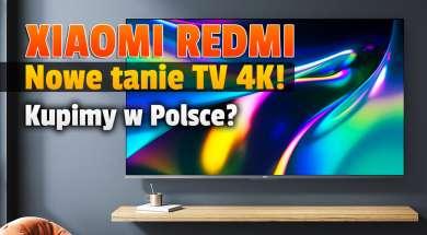 Redmi Smart TV X 2022 okładka