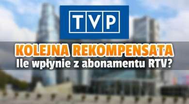 TVP rekompensata abonament RTV 2022 okładka