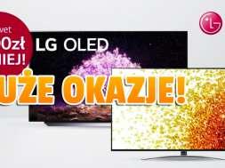 Telewizory LG Days promocja Media Expert październik 2021 okładka
