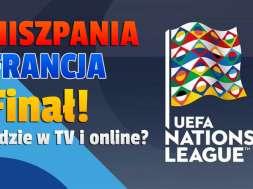 hiszpania francja mecz liga narodów 2021 gdzie oglądać okładka