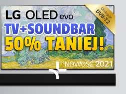 lg oled g1 telewizor soundbar zestaw promocja media expert październik 2021 okładka