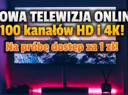 nowa telewizja online Televio kanały HD 4K oferta okładka