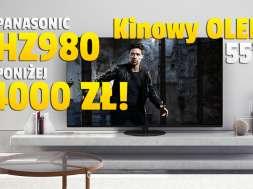 panasonic oled 4k hz980 55 cali telewizor promocja Media Expert październik 2021 okładka