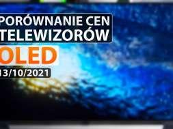 porównanie cen tv OLED 13 10 2021 okładka