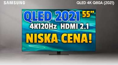 samsung qled q80a telewizor 2021 55 cali promocja rtv euro agd październik 2021 okładka