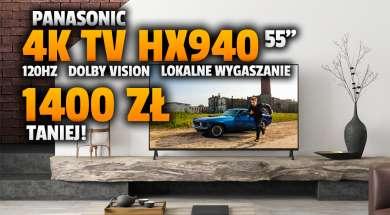 telewizor 4K Panasonic HX940 55 cali promocja Media Markt październik 2021 okładka