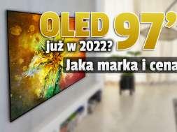 telewizor OLED 97 cali lg 2022 okładka