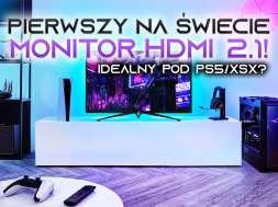 Monitor ROG Strix XG43UQ HDMI 2.1 gaming okładka