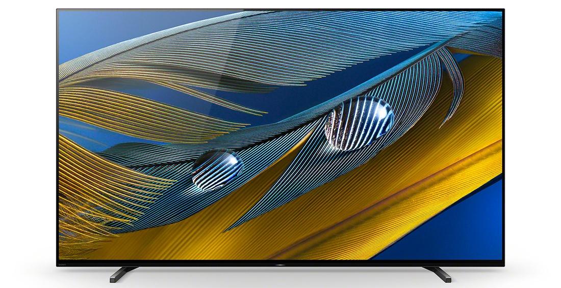 Test Sony BRAVIA XR A80J OLED Google TV wygląd przód